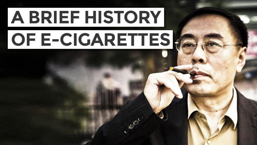 A Brief History of Vaping and E-Cigarettes
