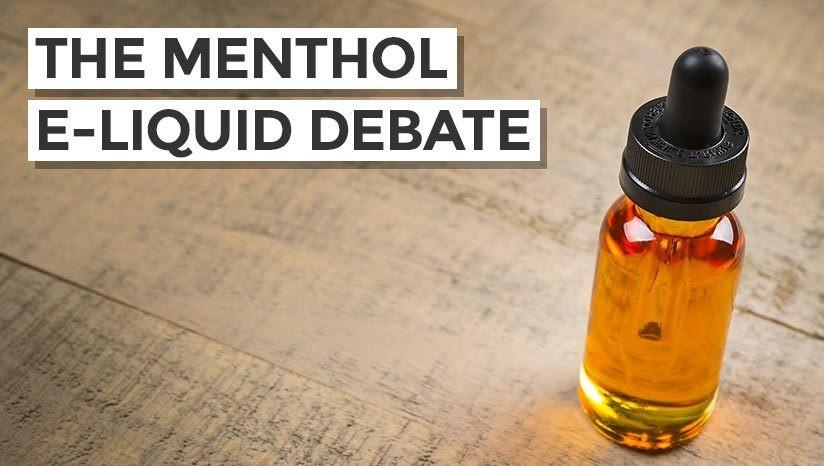 The rocky road of menthol e-liquid