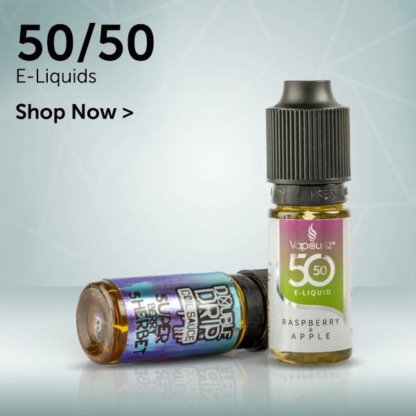 50/50 E-Liquids